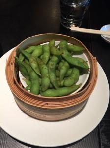 Edamame with celery salt